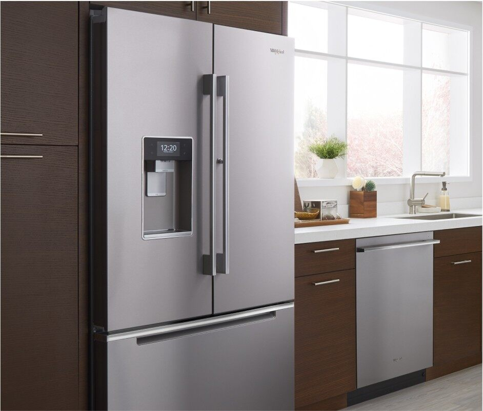 Creative Refrigerator Placement Tips in A Small Kitchen