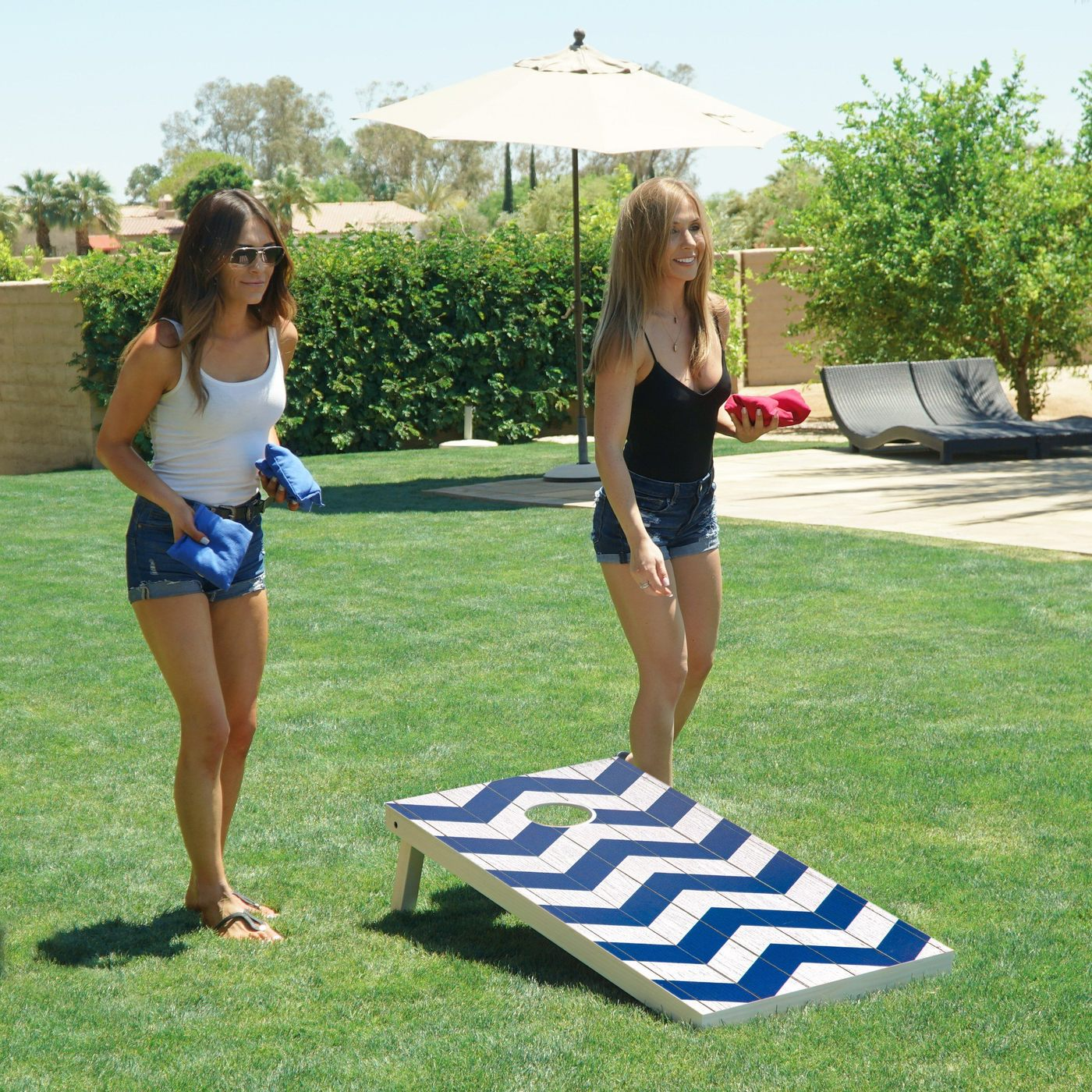 Cornhole is the most popular outdoor game for groups